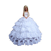 프린세스 드레스 에 대한 바비 인형 드레스 에 대한 여자의 인형 장난감