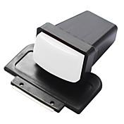 rectángulo de uñas impresora estampador arte y rascador para establecer superficie de la uña de bricolaje - blanco