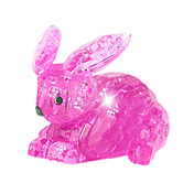 조립식 블럭 선물 조립식 블럭 모델 & 조립 장난감 Rabbit ABS 아이보리 오렌지 장난감