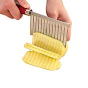 1 pièces Cutter & Slicer For Pour légumes / Pour Fruit Acier Inoxydable Haute qualité / Creative Kitchen Gadget / Nouveautés