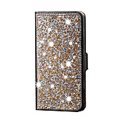 Para Funda Samsung Galaxy Diamantes Sintéticos Funda Cuerpo Entero Funda Brillante Cuero Sintético SamsungS6 edge plus / S6 edge / S6 /