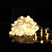 100 주도 10m 방수 플러그 야외 크리스마스 휴일 장식 빛 주도 문자열 빛 (220V)