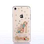 용 아이폰7케이스 아이폰7플러스 케이스 아이폰6케이스 케이스 커버 크리스탈 뒷면 커버 케이스 섹시 레이디 하드 PC 용 Apple아이폰 7 플러스 아이폰 (7) iPhone 6s Plus iPhone 6 Plus iPhone 6s 아이폰 6