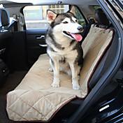 강아지 카 시트 커버 애완동물 매트&패드 방수 폴더 블랙 베이지 브라운