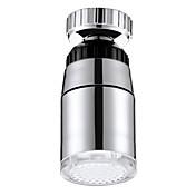 LED 색상 변화 수도꼭지 온도 제어 온도에 민감한 발광 수도꼭지 (ABS 물 도금)