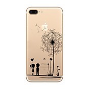 Para iPhone X iPhone 8 iPhone 8 Plus iPhone 7 iPhone 6 Funda iPhone 5 Carcasa Funda Ultrafina Transparente Diseños Cubierta Trasera Funda