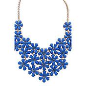 Gargantillas Cristal Joyas Fiesta / Diario / Casual estilo de Bohemia Legierung / Resina Mujer 1 pieza RegaloNegro / Amarillo / Azul /