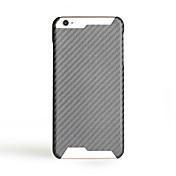 용 울트라 씬 케이스 뒷면 커버 케이스 단색 하드 탄소 섬유 용 Apple 아이폰 7 플러스 아이폰 (7) iPhone 6s Plus/6 Plus iPhone 6s/6