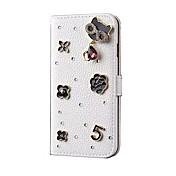 용 카드 홀더 스탠드 케이스 풀 바디 케이스 고양이 하드 인조 가죽 용 Apple iPhone 6s Plus/6 Plus iPhone 6s/6