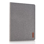 For with Stand Case Full Body Case Solid Color Hard PU Leather for Apple iPad 2 3 4