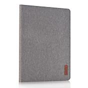 용 스탠드 케이스 풀 바디 케이스 단색 하드 인조 가죽 용 Apple iPad 4/3/2
