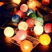 250은 등나무 공 문자열 요정 조명 웨딩 장식 파티 뜨거운 사용 화려한 요정 빛의 정원 장식을 20leds