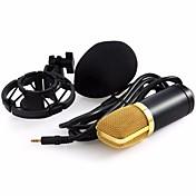 Professional BM-700 Condenser KTV Microphone BM700 Cardioid Pro Audio Studio Vocal Recording Mic KTV Karaoke+ Metal Shock Mount 유선 컴퓨터 마이크