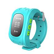 lbs gps doble localización actividad segura niños los niños del perseguidor del reloj del reloj inteligente