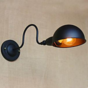 장식 벽 통로 주위를 맴도는 복고풍 검은 높은 수준의 성격 침대 옆 침실 연구
