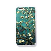 용 반투명 엠보싱 텍스쳐 패턴 케이스 뒷면 커버 케이스 나무 하드 PC 용 Apple아이폰 7 플러스 아이폰 (7) iPhone 6s Plus iPhone 6 Plus iPhone 6s 아이폰 6 iPhone SE/5s iPhone 5