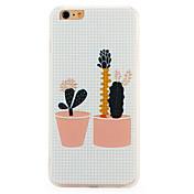 Para Diseños Funda Cubierta Trasera Funda Dibujos Suave TPU para Apple iPhone 7 Plus iPhone 7
