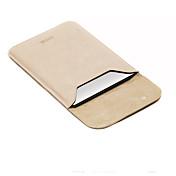 para el aire del macbook de la manzana / pro 13.3 12 11.6 mangas pulgadas portátil bolsa de cuero de la PU del estilo del ocio simple de