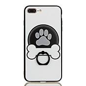 용 링 홀더 패턴 케이스 뒷면 커버 케이스 카툰 하드 PC 용 Apple 아이폰 7 플러스 아이폰 (7)