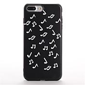 Para Diseños Funda Cubierta Trasera Funda Azulejos Suave TPU para Apple iPhone 7 Plus iPhone 7