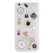 용 크리스탈 투명 케이스 뒷면 커버 케이스 섹시 레이디 하드 PC 용 Apple 아이폰 7 플러스 아이폰 (7) iPhone 6s Plus iPhone 6 Plus iPhone 6s 아이폰 6