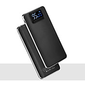 banco de la energía de la batería externa 4.7V 2.0A #A Cargador de batería Linterna Multisalida Superslim LCD