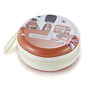 손목 스피너 손가락 가방 영국 바람 금속 이어폰 범용 케이스