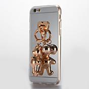 용 거울 DIY 케이스 뒷면 커버 케이스 3D카툰 캐릭터 하드 아크릴 용 Apple 아이폰 7 플러스 아이폰 (7) iPhone 6s Plus iPhone 6 Plus iPhone 6s 아이폰 6