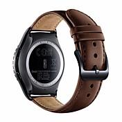 삼성 전자 용 s2 classic sm-r732 / r7320 스마트 시계 진짜 가죽 시계 밴드 교체