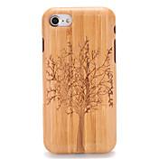 용 케이스 커버 엠보싱 텍스쳐 패턴 뒷면 커버 케이스 나무결 나무 하드 나무 용 Apple 아이폰 7 플러스 아이폰 (7) iPhone 6s Plus iPhone 6 Plus iPhone 6s 아이폰 6