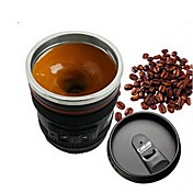Cocina interior de acero inoxidable de la lente de la cámara de la emulación de 1pcs que cena la barra de café de té de la leche de la