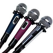 Alámbrico-Micrófono de Mano-Micrófono de KaraokeWith6.3mm