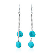 Earrings Set Turquoise Unique Design Euramerican Fashion Chrome Jewelry For Wedding Party Birthday Gift 1 pair