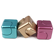 Cube dice box square EDC fingers gyro spiral decompression toy