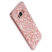 For Samsung  Galaxy S8 Plus S8 Cover Case 3D diamond design  Cover Case Solid Color Soft TPU S7 Edge S7
