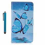 제품 케이스 커버 지갑 카드 홀더 스탠드 플립 패턴 풀 바디 케이스 버터플라이 하드 인조 가죽 용 Samsung S8 S8 Plus S7 edge S7 S6 edge S6 S5