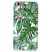 케이스 아이폰 7 6 나무 tpu 소프트 울트라 - 얇은 다시 커버 케이스 커버 아이폰 7 플러스 6 6s 더하기 5s 5 5c 4s 4