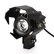U8 llevado moto focos linterna de la motocicleta alta baja flash luz de la cabeza luz de la lámpara impermeable