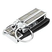 Acierage Stahl Safe Schlüsselanhänger mit 2 Ringe