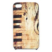 Joyland Vintage Piano Pattern Hard Case for iPhone 4/4S