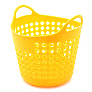WK-Multifunction Hollow Out Solid Color Storage Basket S Size
