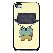 Cool Boy Pattern Hard Case for iPhone 4/4S