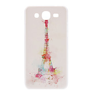 Cartoon Tower Pattern Hard Case for Samsung Galaxy Mega 5.8 I9152