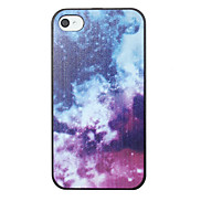Dreamily Starlit Sky Pattern Back Case for iPhone 4/4S