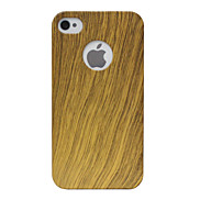 Wooden Texture Ultrathin Back Case for iPhone 4/4S