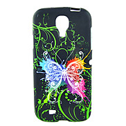Colorful Butterflies Pattern Soft Case for Samsung Galaxy S4 I9500