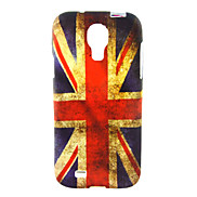 British Flag Pattern Soft Case for Samsung Galaxy S4 I9500