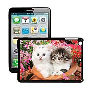 Cat Pattern 3D Effect Case for iPad mini 3, iPad mini 2, iPad mini