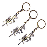 1PCS Metal Sniper Rifle Keychain