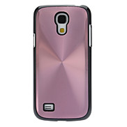 Metallic Back with Black Edge Hard Back Cover Case for Samsung Galaxy S4 Mini I9190